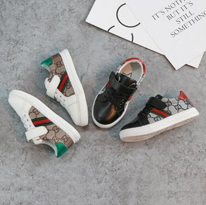 2019 Sonbahar Yeni Marka çocuk ayakkabıları Moda kız kanvas ayakkabılar öğrenci Düz çocuk boys loafer'lar sneakers toddler bebek için spor