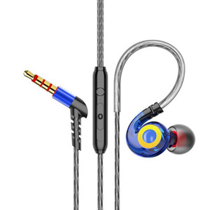 2020 new in ear wired earphone 1.2m 3.5mm inear headphones with voice control and build-in mic for samsung s8 s9 plus earbuds