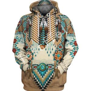 Yerli Hint Yeni Moda Harajuku 3D tam Baskılı Hoodie / Kazak / Ceket / Erkek Kadın hiphop gündelik fit tarzı-2