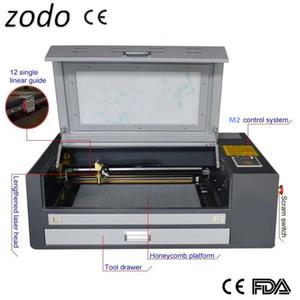4060 60w 400 X 600 millimetri macchina di taglio cnc Lazer macchina per incidere laser per Incisione su legno di bambù della zucca
