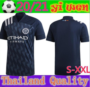 2020 cidade 2021 MLS Parley New York Soccer Jersey 20 21 Parks NYCFC MCNAMARA Moralez DAVID VILLA PIRLO Football Shirt tamanho S-XXL TAILÂNDIA
