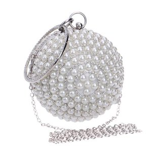 Fashion Banquet Pearl Handbags Cosmetic bags travel receipts cosmetic receipts Party Clutch Bag Ball Bag For Women In Stock Free Shipping
