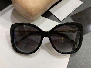 Moda 5339 Perla Nera / Argento Occhiali da sole polarizzati delle donne Occhiali da sole donna Occhiali da sole Nuovo con scatola