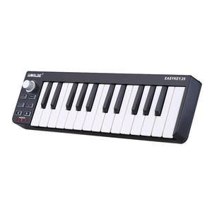 Easy key 25 Portable Keyboard Mini 25-Key USB MIDI Controller Electronic Organ Accessories