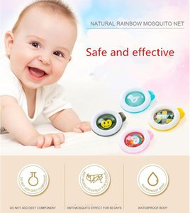 Mosquito Repellent Badge Button Buckle Cartoon Cute Anti-Mosquito Insect Bug Repellent Clip Buckle for Baby Mosquito Repellent Button