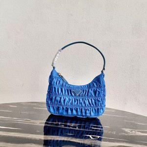 2020 новый топ дизайнерская сумка мода мятый нейлон сумка на молнии сумки посыльного сумки для покупок сумка размер 22x17x6 см
