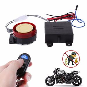 Top qualité 1 Pc Scooter voiture de sécurité Système d'alarme Télécommande 12V antivol moto vélo