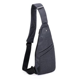 남자 방지도 가방 가방 남자 방수 여행 작은 가슴 가방 슬림 미니 Crossbody 가방 Dropshipping J190702