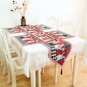 Новый журнальный столик украшение флаг стол азиатских французский повар французский фотобумаги ткань длинный стол полотенце