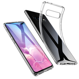 1.5MM Transparent TPU Soft Case Retour Gel de couverture pour Samsung Galaxy S10 plus S10e S9 S8 Huawei P30 Lite Pro