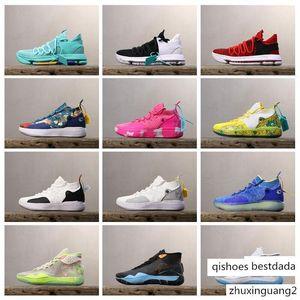 KD Sale barato 11 Zapatos Negros cáncer 90s Kid Kevin Durant Baloncesto Deportes 12 10 Real mamarias para KD10 KD12 KD11 zapatillas Size7-12