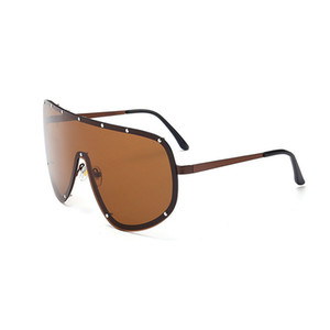 Al por mayor-MINCL / 2018 de gran tamaño XXL Enorme gran abrigo Wrap Designer Womens gafas de sol polarizadas Hombres y mujeres de moda gafas de sol únicas FML