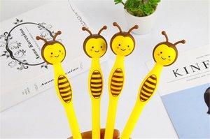 Gel Pen Piccolo penna a sfera Bee 1Pcs Kawaii animali 0.5mm Ufficio Scolastico di scrittura Strumenti di accessori per la casa Carino regali dell'allievo di cancelleria per bambini