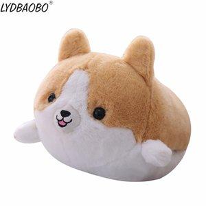 35 / 50cm 아기 Kawaii Corgi 개 플러시 장난감 부드러운 귀여운 동물의 만화 손을 따뜻하게 베개 아이 사랑스러운 발렌타인 데이 선물