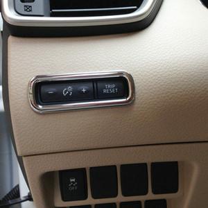ABS سيارة الجبهة عداد المسافات زر تبديل الغلاف تقليم 1PCS لنيسان كاشكاي روغ الرياضة 2014-2020