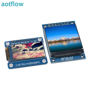 TFT Display 0.96   1.3 1.44 inch IPS 7P SPI HD 65K Full Color LCD Module ST7735 Drive IC 80*160 (Not OLED) For Arduino