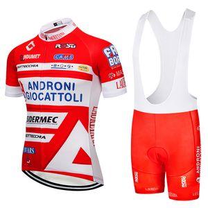 Andron Team Pro Jersey Ciclismo babadores calções terno Ropa Ciclismo Mens verão rápida secar BICYCLING Maillot desgaste