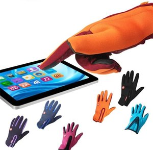 Hot new Touch Screen Gloves Winter Windproof Waterproof Warm Glove Outdoor Riding Sport Five Fingers Gloves WCW190