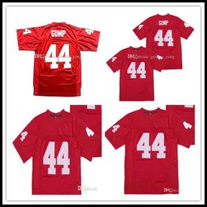 Los hombres manera barata Forrest Gump 44 Tom Hanks película cosida Universidad de fútbol de alta calidad del envío de los jerseys al por mayor de cosido