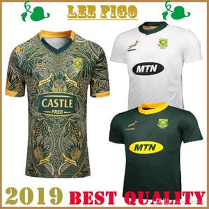 أفضل نوعية جنوب أفريقيا المنزل بعيدا 100th الذكرى الطبعة الركبي قمصان 2019 منتخب جنوب أفريقيا المنزل بعيدا RUGBY SHIRT SIZE: S-3XL