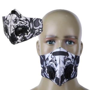 Gesichtsmaske Halbantistaub Pollution Filter Sport Radfahren Fahrrad Fahrrad Anti Smog schützen Mund Gesicht schützende Schablonen