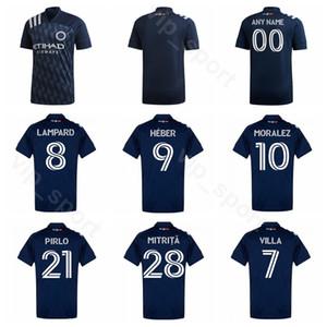 New York 2020 2021 Calcio 28 Alexandru Mitriţă Jersey 10 Maximiliano Moralez 11 Valentin Castellanos HEBER ANELLO Football Shirt Kit