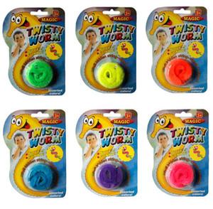 imballaggio della carta della bolla ritorto Worm nuovo e creativo unico puntelli magici Giocattoli divertente giocattolo magico verme