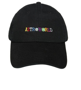 Travi $ Scott آخر ألبوم ASTROWORLD Dad Hat 100٪ قطن جودة عالية تطريز Astroworld Baseball Caps Unisex Travis Scott
