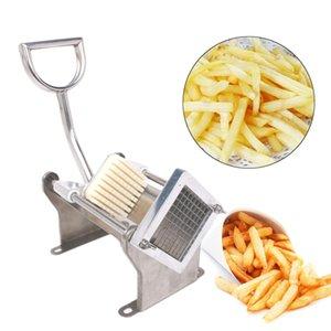 Fries acier inoxydable Français Cutter Potato Chip Trancheuses Manuel légumes fruits Cutter avec 3 lames de cuisine Outils