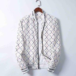Men Jackets Zippers Hooded Jackets Mens Windbreaker Jacket Luxury Designer Fashion Casual Streetwear Sports Jackets Coats