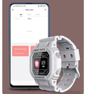 Smart Watch Tension artérielle Oxygène Récompense cardiaque de la fréquence cardiaque IP67 Message imperméable Rappel de message pour hommes Femmes Bracelet intelligent