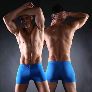 Men Swimwear Truck Shorts Classic Pattern Plus Size XXX men's Swimsuits Big Large Man Swimsuits Swimming wear Boys male Sexy