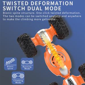 Juguetes de niños impulsión de cuatro ruedas del vehículo Twisted Stunt función multipropósito, de gran coche de control remoto inalámbrico