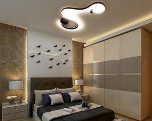 Современный светодиодный потолочный светильник люстры AC110V 220V творческий светодиодный потолочный светильник для гостиной спальни столовой рядом с комнатным светильником