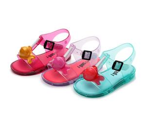 Tek Aşınmaya dayanıklı Yumuşak Havalandırma Boş Zaman Açık Prenses Çocuk ayakkabıları Erkek Terlik Çocuklar Çevirme Sandalet dondurulmuş Terlik