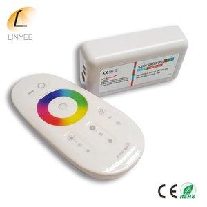 2020 Nouvelle 2 Led Rgb Touch Controller Télécommande DC12 -24V Pour Rgb Led Strip Ampoule Downlight
