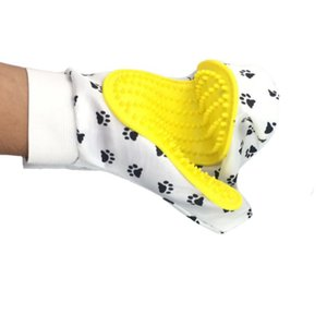 Silicone Pet brush Glove Deshedding Gentle Efficient Grooming Cat Glove Dog Bath Pet Cleaning Supplies Pet Glove Dog Accessories