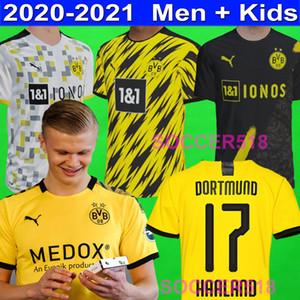 2020 2021 ERLING HAALAND Borussia Dortmund REUS SANCHO pullover di calcio Francisco Alcácer GOTZE Hakimi T-shirt bambini calcio Hummels Witsel