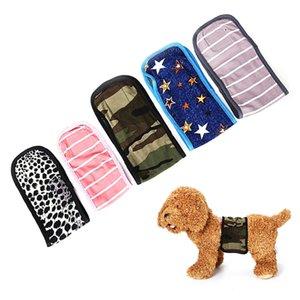 1pcs Durable Pet cão masculino Cotton Physiological Pants Belly Banda Diaper Sanitária Underwear Macio acolhedor para cão envoltório Bandas Beathable
