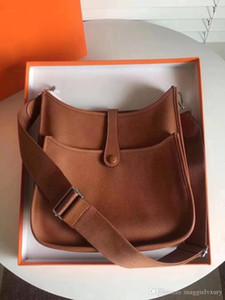 Top selling Frauen Damen Clutch Geldbeutel Klassische Evelyn Kalbsleder H Togo echtes Leder Top Qualität Designer-Handtaschen aushöhlen Messenger S