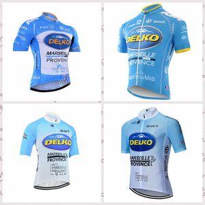 Delko Team Radfahren kurze Ärmel Trikot 2020 Outdoor-Sport MTB Fahrrad Wear Männer Quick Dry Fahrrad Zyklus Kleidung C616-11