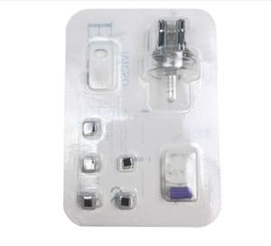 Os mais recentes 3 em 1 Cartão de Agulha EMS injeção mesoterapia livre facial lifing beleza RF mesoterapia arma Consumíveis máquina facial Beleza Equipamentos