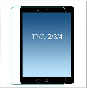 9H Hardness Premium Tempered Glass Screen Protector Film for iPad mini 2 3 4 air 9.7 Tab 4 7 inch with package