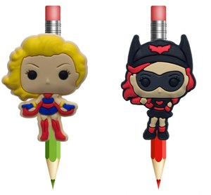 Bombshells Character Pencil Topper Pens stationery Item Kids Gifts Accessories Cartoon Souvenir Free Shipping