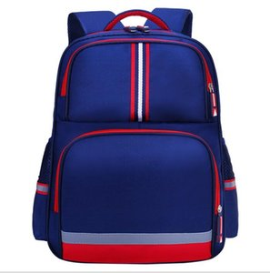 New best selling primary school students custom printed logo high-end children's schoolbag backpack British style ridge 2-6 grade