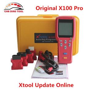 DHL Free Ship Xtool X100 PRO Auto programador chave X100 + Versão Atualizada X 100 Programador X100 + Key Atualização Online