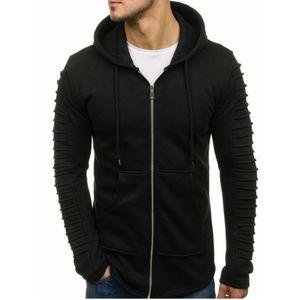 Mens Designer Giacche Felpe Inverno Autunno solido caldo del Mens di colore alti giacca Primavera cappotti con i vetri Designer