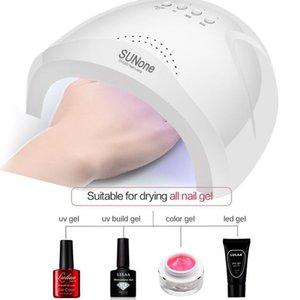 Unhas de secagem rápida UV LED Lâmpada Luz Gel Polish Cure prego secador Lamp Professional prego Enfermagem Art Acessório 200924