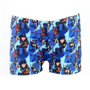 Vente chaude Enfants Maillots de bain Pantalons courts Livraison gratuite Trunks Cartoon Boy Maillots de bain Plantes Wear Beach Boy