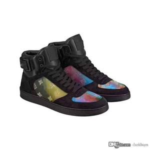 Baskı İyi Kalite Yepyeni Spor Ayakkabılar ile iyi 19SS Lovutt RIVOLI SNEAKER BOOT Siyah Orjinal Kutusu ile Ayakkabı Elbise Ayakkabı tasarımcıları